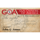 Personalized 2016 Membership Card